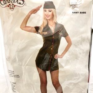 Army Babe Women's Halloween costume (M)